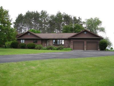 Single Family Home For Sale: W7309 State Highway 64