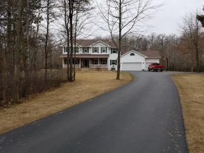 Marinette County Single Family Home For Sale: W794 Heath Lane