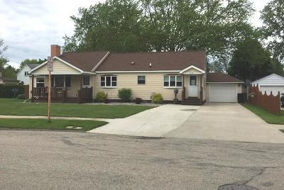 Marinette WI Single Family Home For Sale: $135,000