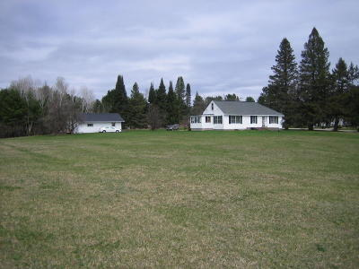 Single Family Home For Sale: N15023 Old Highway 141 Road