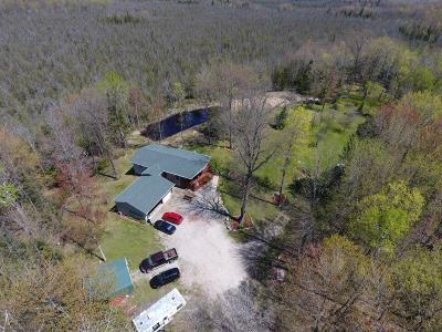 Single Family Home For Sale: W5686 Loomis Road