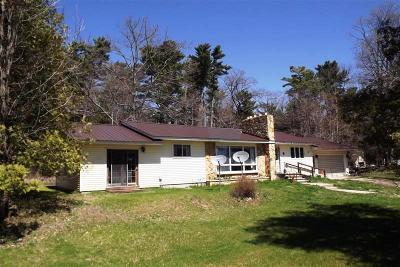 Menominee MI Single Family Home Pending: $139,900
