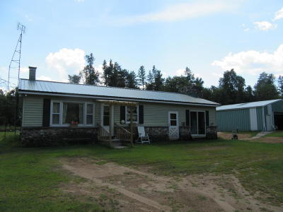 Single Family Home For Sale: N6358 55th Road