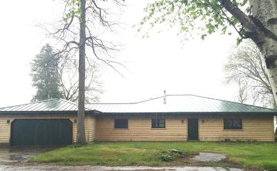 Menominee Single Family Home For Sale: N3262 Hwy M35