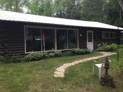Menominee County Single Family Home For Sale: N9218 M35