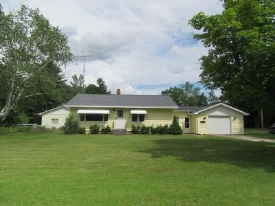 Single Family Home For Sale: N8240 Hwy 180