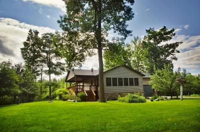 Single Family Home For Sale: W5590 Loomis Road
