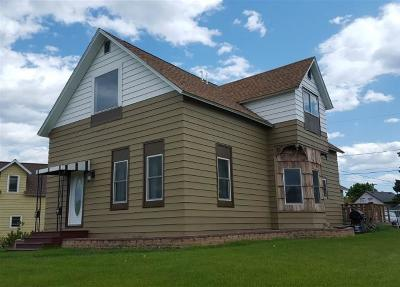 Marinette WI Single Family Home For Sale: $89,900