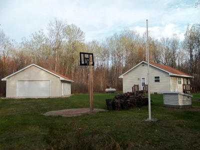 Crivitz Single Family Home For Sale: W13184 Balsam Lake Road