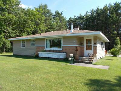 Single Family Home For Sale: W5189 Birch Creek Road