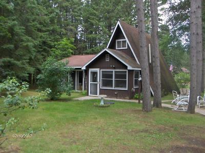 Single Family Home For Sale: W8833 Pine Grove Lane