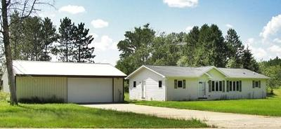 Single Family Home For Sale: N11165 Mud Lake Road
