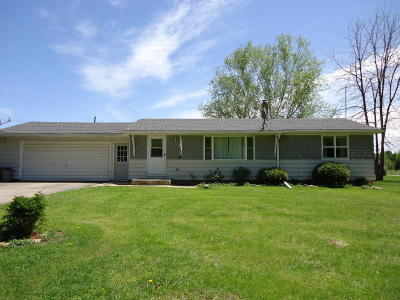 Single Family Home For Sale: N5836 Cty Rd E