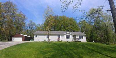Menominee Single Family Home For Sale: N4081 Hwy M-35