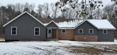 Single Family Home For Sale: N3055 Schacht Road