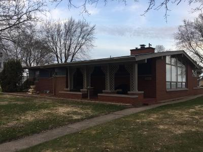 Menominee Single Family Home For Sale: 300 1st Street