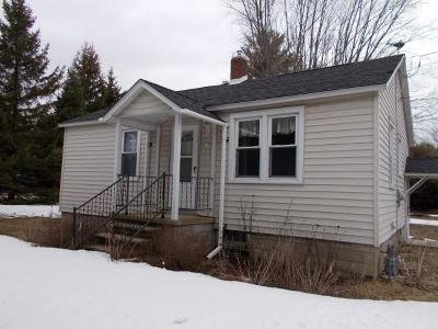 Marinette Single Family Home For Sale: W1634 Hwy 64