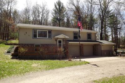 Wallace MI Single Family Home For Sale: $147,900