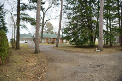 Marinette County Single Family Home For Sale: W431 Oakwood Beach Road