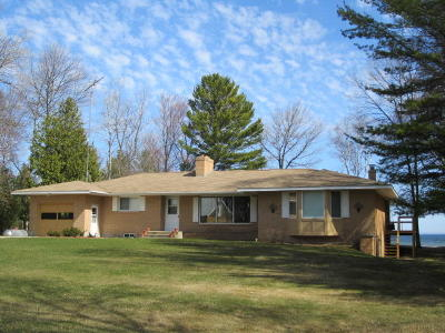 Menominee County Single Family Home For Sale: N5882 M-35