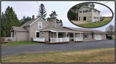 Marinette County Single Family Home For Sale: N19782 Us Highway 141 8