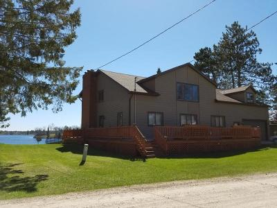 Menominee County Single Family Home For Sale: W9473 Whispering Pines 21.75 Road