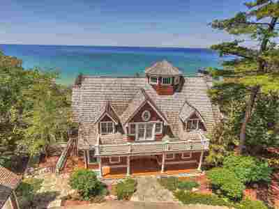 Harbor Springs Single Family Home For Sale: 4050 S Lake Shore Drive