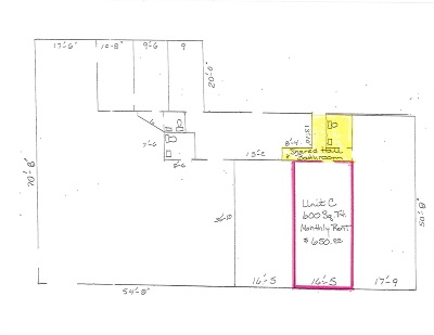 Petoskey MI Commercial Lease Leased: $550