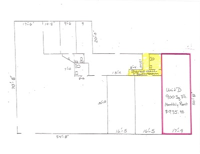Petoskey Commercial Lease For Lease: 2200 E Mitchell #Unit D