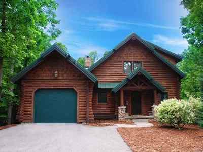 Boyne City Single Family Home For Sale: 01384 Powder Ridge Drive (Pvt) #Door #84