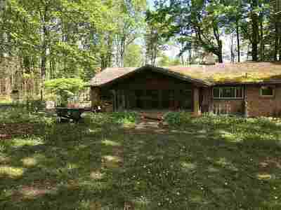 Petoskey Single Family Home For Sale: 2344 Bear River