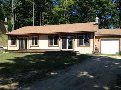 Boyne City Single Family Home For Sale: 01651 Fall Park Road