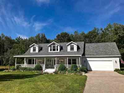 Harbor Springs Single Family Home For Sale: 3920 Pitch Bark