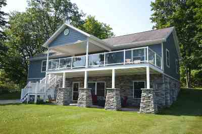 Boyne City Single Family Home For Sale: 00755 Blue Water Trl. (Pvt)