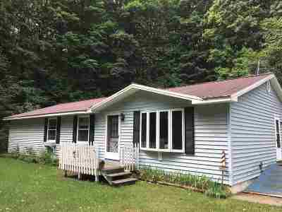 Single Family Home For Sale: 804 State Rd.