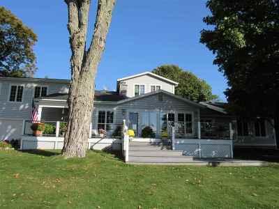 Harbor Springs Single Family Home New: 3485 S Lake Shore