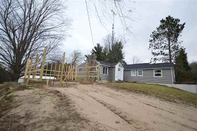 Petoskey Single Family Home New: 5576 Howard Road