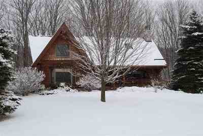 Charlevoix Single Family Home For Sale: 01270 W Mason Creek Drive