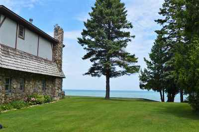 Charlevoix Single Family Home For Sale: 13051 & 13059 Cedar Street