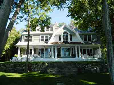 Harbor Springs Single Family Home For Sale: 5909 Cook Point