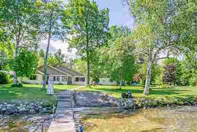 Petoskey Single Family Home For Sale: 7789 Channel Road