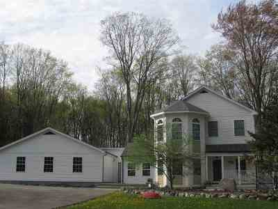 Harbor Springs Single Family Home For Sale: 4470 Walker Drive
