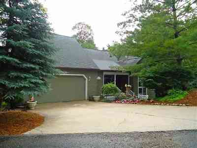 Petoskey Single Family Home For Sale: 1376 Bay View Heights