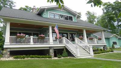 Harbor Springs Single Family Home For Sale: 7765 Marion