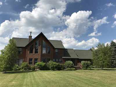 Boyne City Single Family Home For Sale: 00870 W Crozier Road