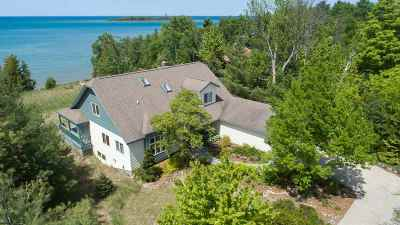 Charlevoix Single Family Home For Sale: 4819 Lakeshore Drive