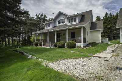Charlevoix Single Family Home For Sale: 07644 Burgess Road