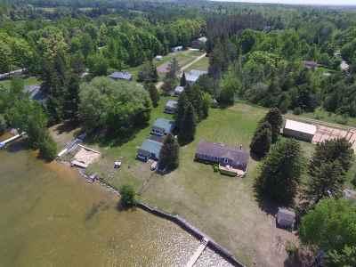 Single Family Home For Sale: 958 E Mullett Lake Road