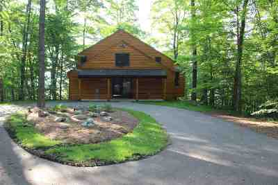 Single Family Home For Sale: 4322 W Burt Lake Road