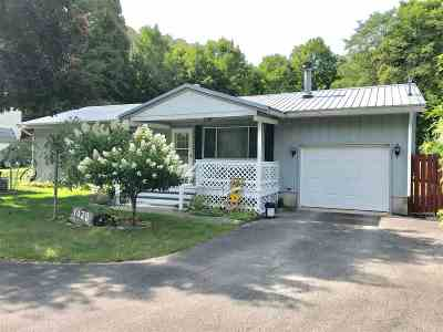 Boyne City Single Family Home For Sale: 1420 Pleasant